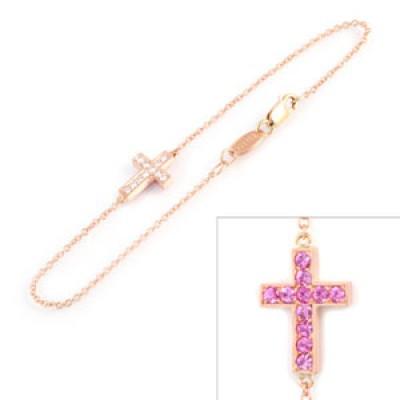 Double Cross Bracelet