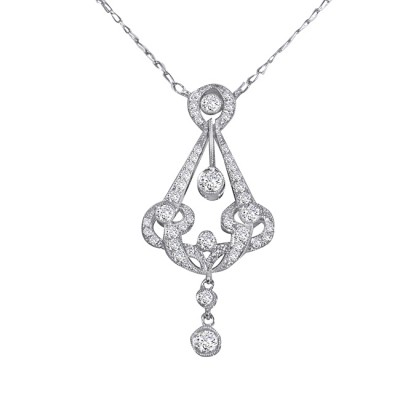 Platinum Diamond Necklace