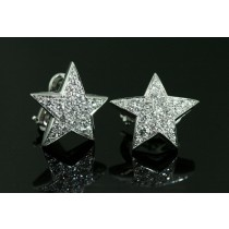 Diamond Star earrings.