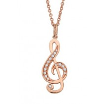 Musical Diamonds Necklace