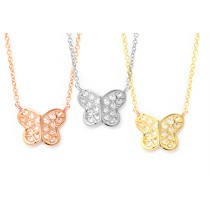 Butterfly Kiss Necklace