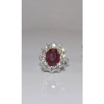 Beautiful Oval Ruby Ring